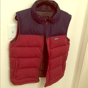 Patagonia Men's two tone down vest